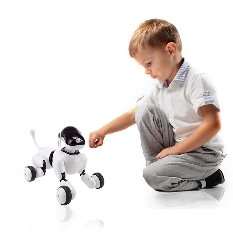 Robot vocal Intelligent jouet pour chien Application sans fil contrôlée Machine chiot interactif électronique parlant animal de compagnie pour les enfants - 4