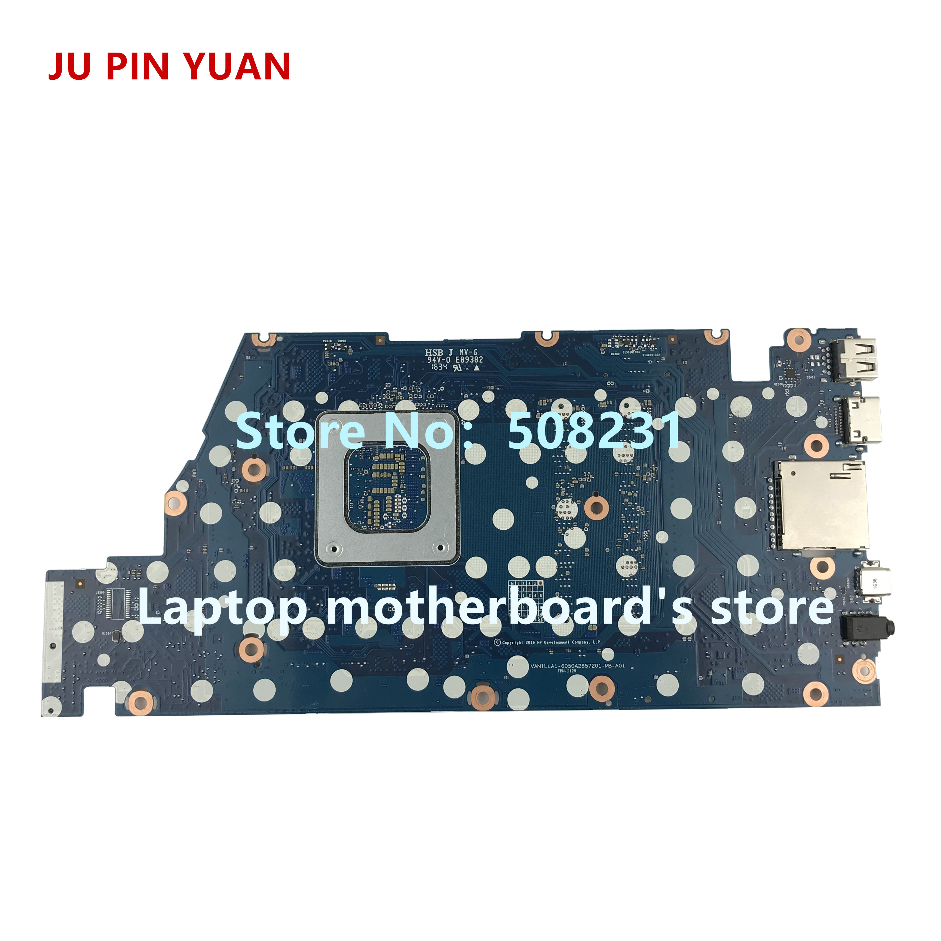 HP Envy 15-AS Laptop Motherboard w// Intel i7-7500U 2.7Ghz CPU 859288-601