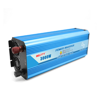Free shipping 12 volt 220 volt pure sine wave power inverter 3000W power inverter japan dc ac inverter