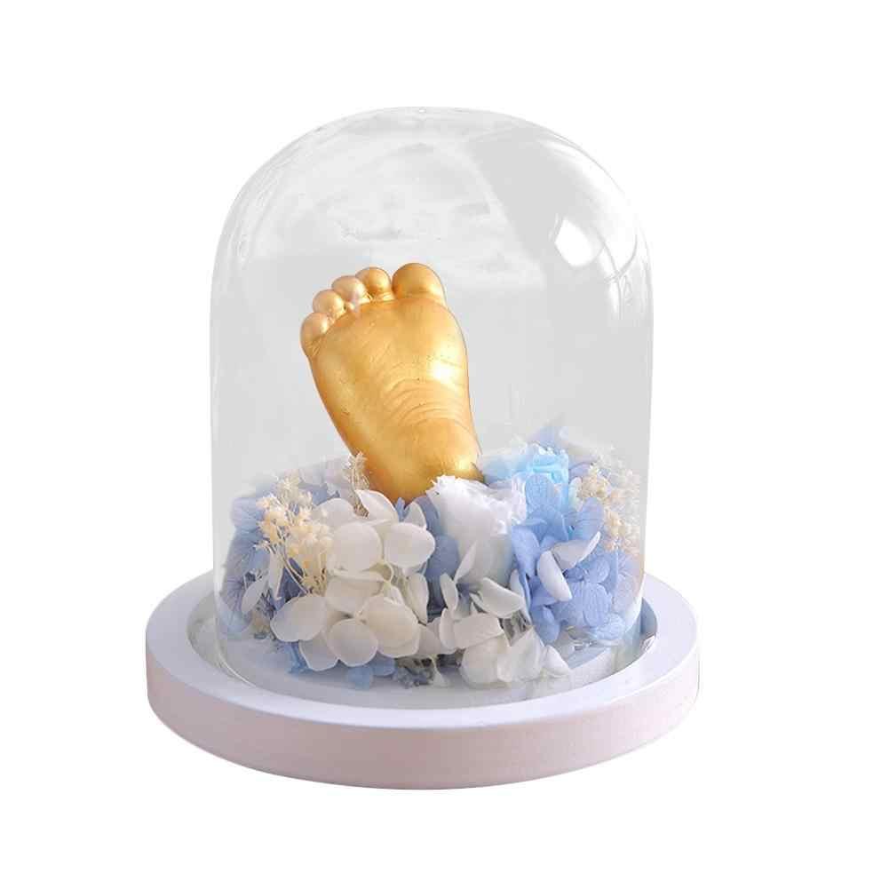 3D ручной работы DIY детская рука ноги литой набор клон порошок мини-отпечатки пальцев модель порошка подарки плесень детская рука печать