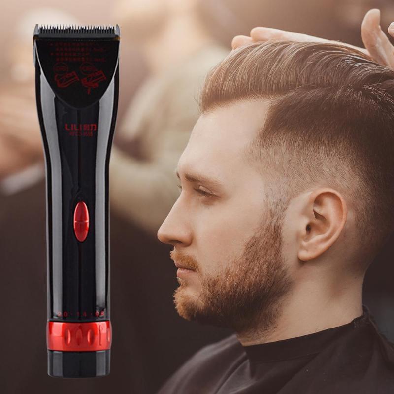 Lili tondeuse à cheveux professionnelle Rechargeable électrique tondeuse à cheveux hommes coupe de cheveux sans fil réglable lame en céramique