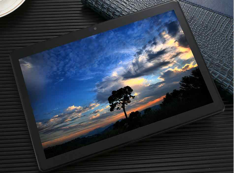 Super 2.5D Tempered Glass 10 inch tablet Android 7.0 Octa Core 4GB RAM 64GB ROM 1280X800 IPS WIFI GPS 3g phone Tablets 10.1