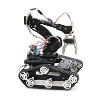 Алюминиевый робот 7DOF PS2 Управление Arm Механическая Роботизированная рука зажим коготь комплект для монтажа Arduino Коллекционная фигурка
