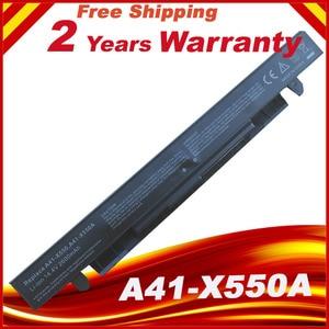 Image 1 - 14.8v Battery For Asus X450 X550 X550C A41 X550 A41 X550A X550A A450LA P450LC R510EA P450CA F550VC F552C A450V P450LB