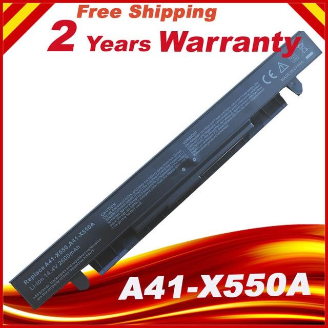 14.8v Battery For Asus X450 X550 X550C A41 X550 A41 X550A X550A A450LA P450LC R510EA P450CA F550VC F552C A450V P450LB