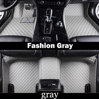 Special made car floor mats for Audi Q7 SUV 5D customized waterproof anti skid foot case rugs carpet liners(2006 )