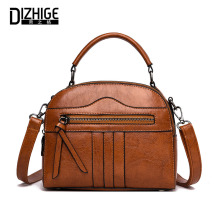 DIZHIGE Luxury Handbags Women Bags Designer New Fashion Bags PU Leather Ladies Bags Famous Brands Tote Shoulder Bag Sac A Main banniniu 2017 women smile bag casual rivet tote bag luxury brands designer handbags high quality pu leather ladies shoulder bags