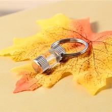 Tritium Self Luminous Key Ring Waterproof Ultralight Outdoor Glow In The Dark Keychain Ring Emergency Survival Mini Light недорого