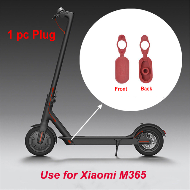 US $2 64 |1 pcs Charging Port Dust Plug Repair Spare Parts for Xiaomi Mijia  M365 Electric Scooter Skateboard Dust Plug Accessories New-in Scooter