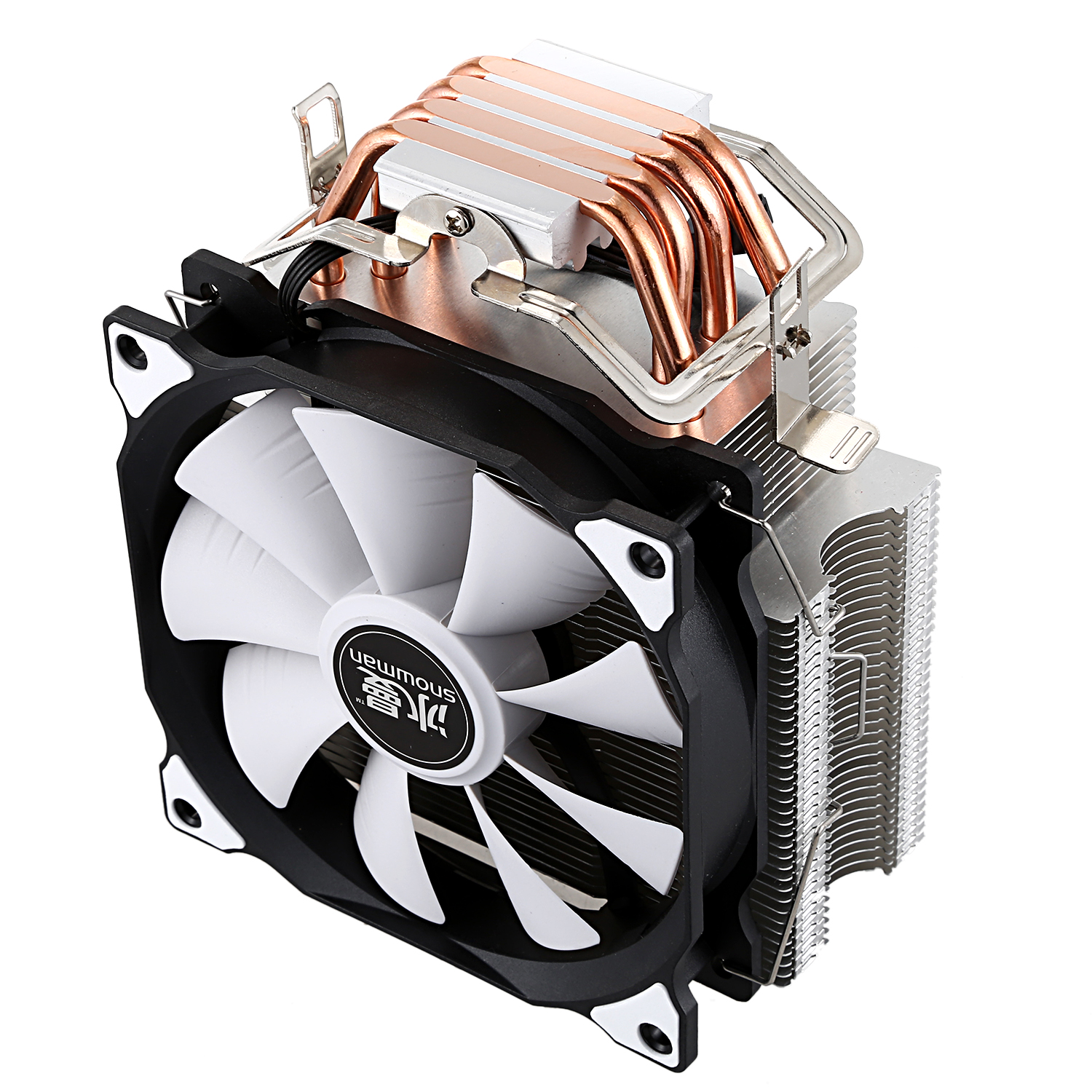 Image 4 - SNOWMAN CPU Cooler Master 5 Direct Contact Heatpipes freeze Tower Cooling System CPU Cooling Fan with PWM Fans-in Fans & Cooling from Computer & Office