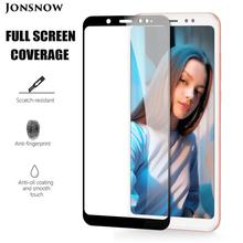 JONSNOW Tempered Glass for Xiaomi Redmi Note 6 Pro Full Cover Screen Protector for Redmi Note 6 Note 5 Global Version Note 5 Pro 5d full curved tempered glass for xiaomi redmi note 6 pro 6 26 9h explosion proof screen protector for redmi note 6 pro global