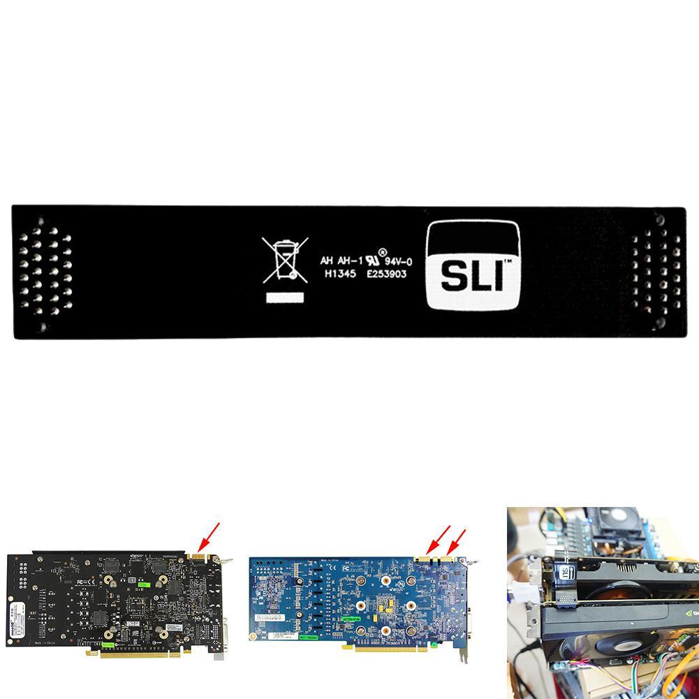 High Speed Graphics Cards Connector Adapter SLI Bridge Adapter for GTX1070/1080 Computer Desktop Adapter-in Computer Cables & Connectors from Computer & Office