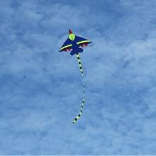 Забавный малыш Летающий змей Новинка Самолет форма Осьминог воздушные змеи открытый Забавный аксессуар для воздушного змея линия KiteTail катушка реквизит для семейного веселья