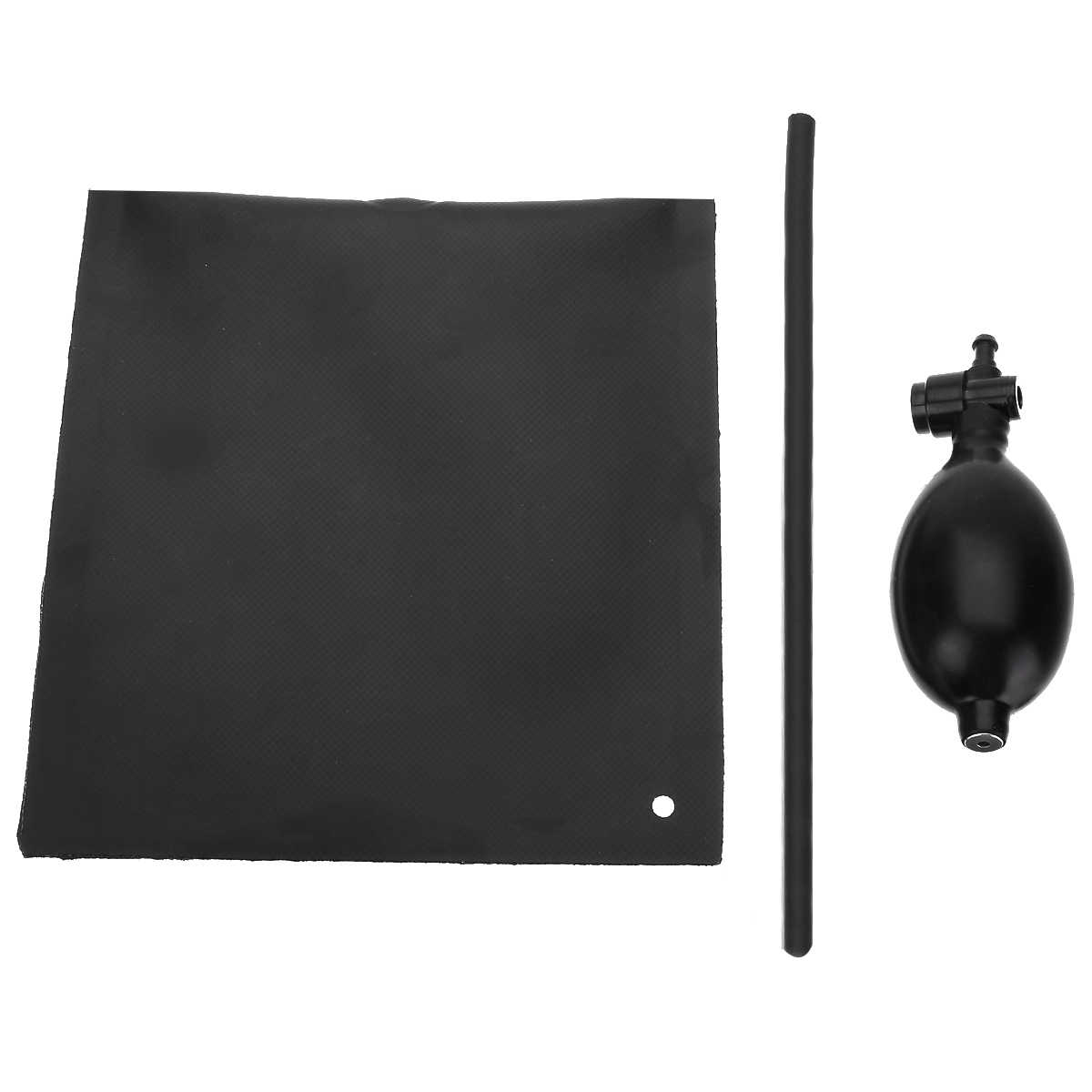 Mayitr שכבה כפולה גומי רכב חלון דלת משאבת Wedge כרית אוויר מתנפח פתוח כניסת יד תיקון כלי שחור