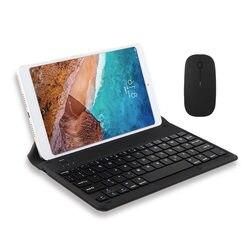 Klawiatura Bluetooth dla xiaomi mipad 4 2 3 1 Plus mi pad 4/3/2/1 Plus mi pad3/4/2/1 tablety bezprzewodowe etui z podstawką Bluetooth