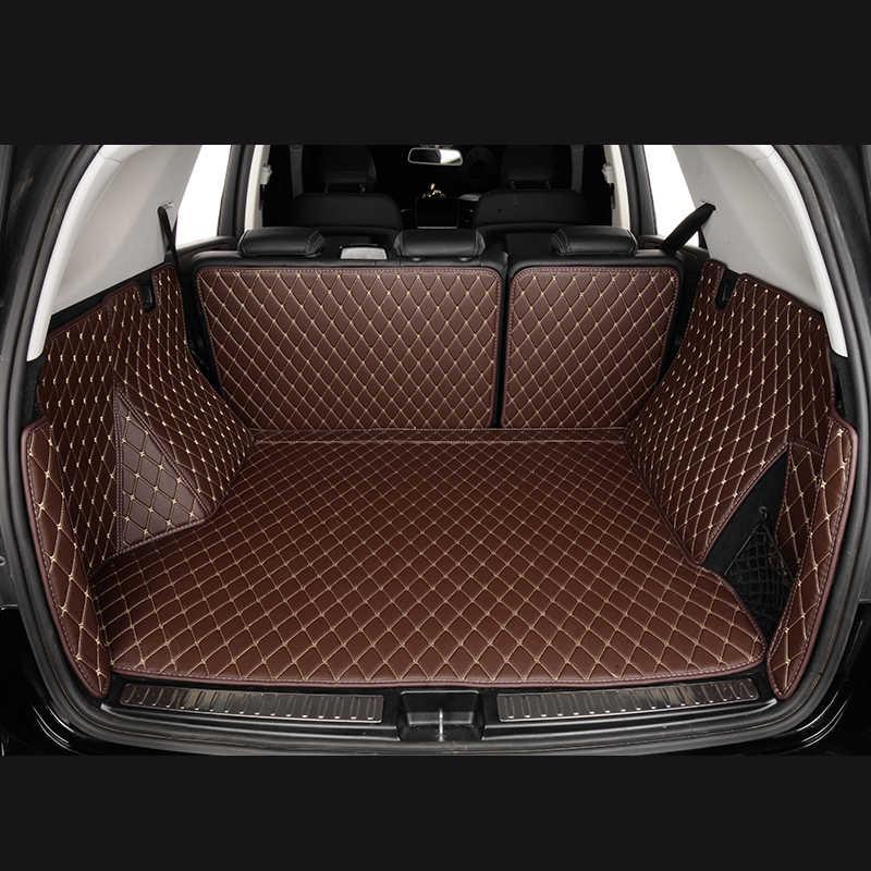 Auto Stamm Matten für Volkswagen Golf VII 7 VI 6 Tiguan auto zubehör custom Cargo-Liner