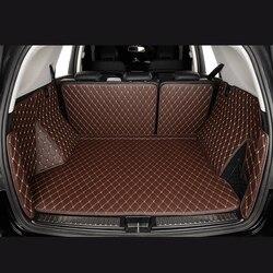 Kofferbak Matten voor Volkswagen Golf VII 7 VI 6 Tiguan auto accessoires castom Cargo Liner