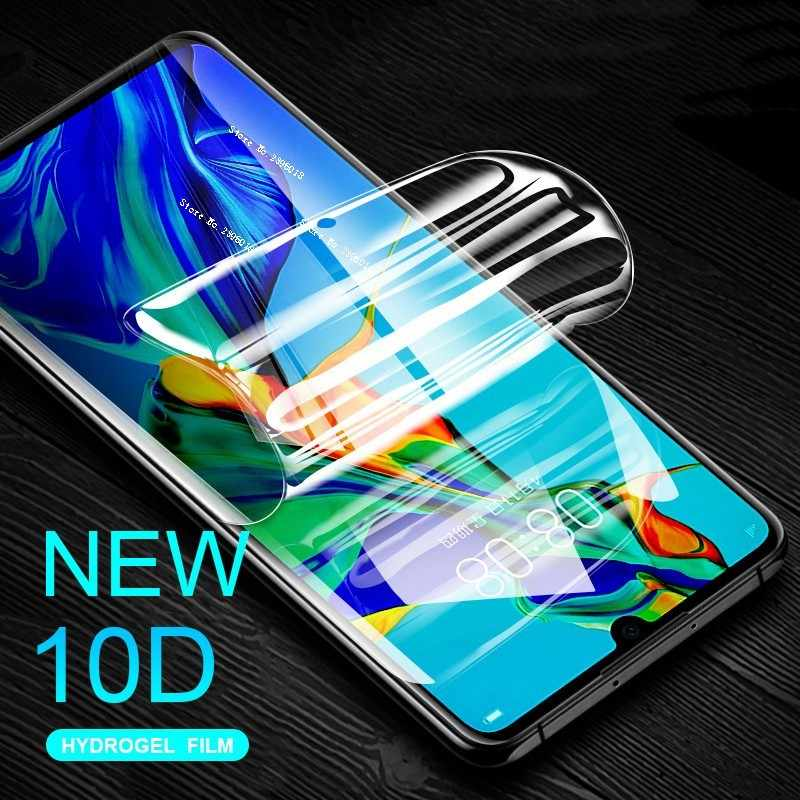 Full Curved Hydrogel Protective Film On The For Huawei Honor 10 8A 8C 7X P20 P30 Mate 20 10 Pro Lite 10D Screen Protector Film