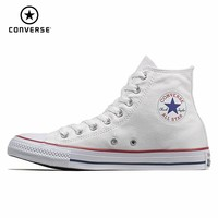 CONVERSE ALL STAR Men's And Women's Shoes Skateboarding Shoes Canvas High Help Classic Fund White Motion Casual Shoes #101009/10