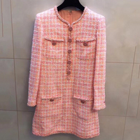 Роскошные зимние платья для женщин осень до колена вечерние платье 2019 высококачественное платье офисные женские туфли