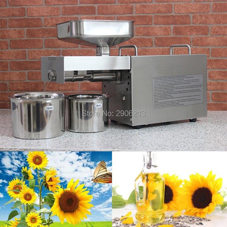 Máquina da imprensa de óleo de sementes de girassol, sementes de girassol óleo de pressão, equipamentos para o negócio, negócio de equipamentos de extrator de óleo