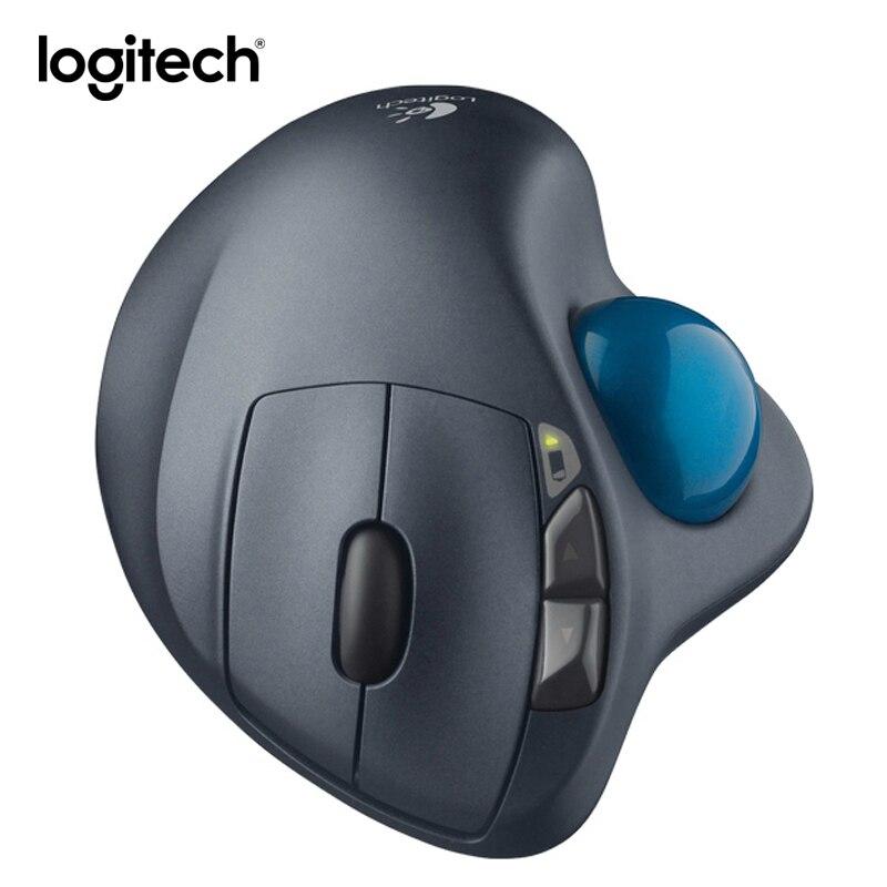 ロジクール M570 ゲームマウスワイヤレスラップトップモウズレーザーマウス垂直トラックボールマウス人間工学ラトン統一受信機スリス  グループ上の パソコン & オフィス からの マウス の中 1