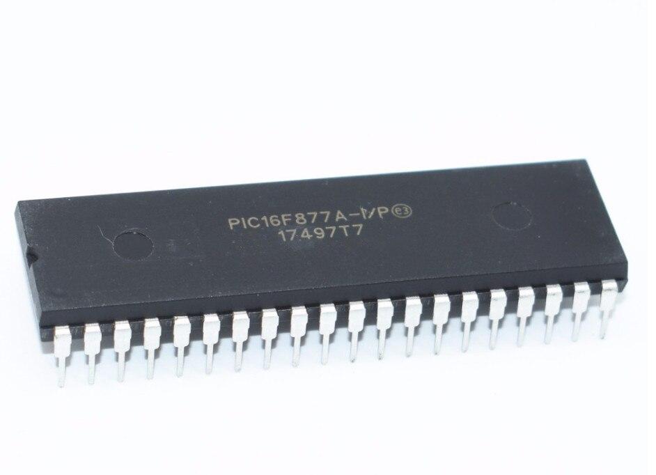 100PCS PIC16F877A I P PIC16F877A PIC16F877 16F877A I P MICROCHIP DIP40