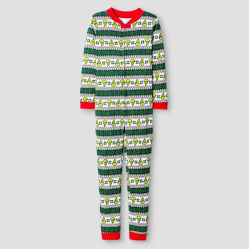 Christmas Family Matching Xmas Pajamas Set Women Pjs Sleepwear Nightwear