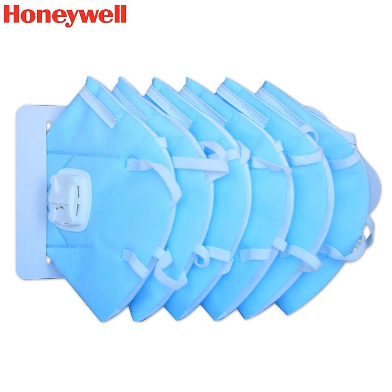 5 mascherine honeywell ffp3 a coppetta con filtro