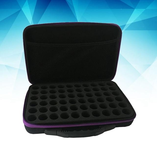 60-Bottle Essential Oils Storage Case Lightweight Durable Portable Essential Oil Case Pack Carrying Holder Organizer Travel Box 3