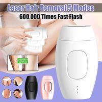 Portable Women 600000 Flash Permanent IPL Epilator Laser Hair Removal Electric Photo Painless Threading Hair Remover Machine