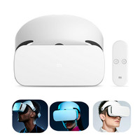 Original Xiaomi VR Glasses Helmet Virtual Reality Headset with Remote Controller for Mobile Phone For Xiaomi 5/5s/5s Plus