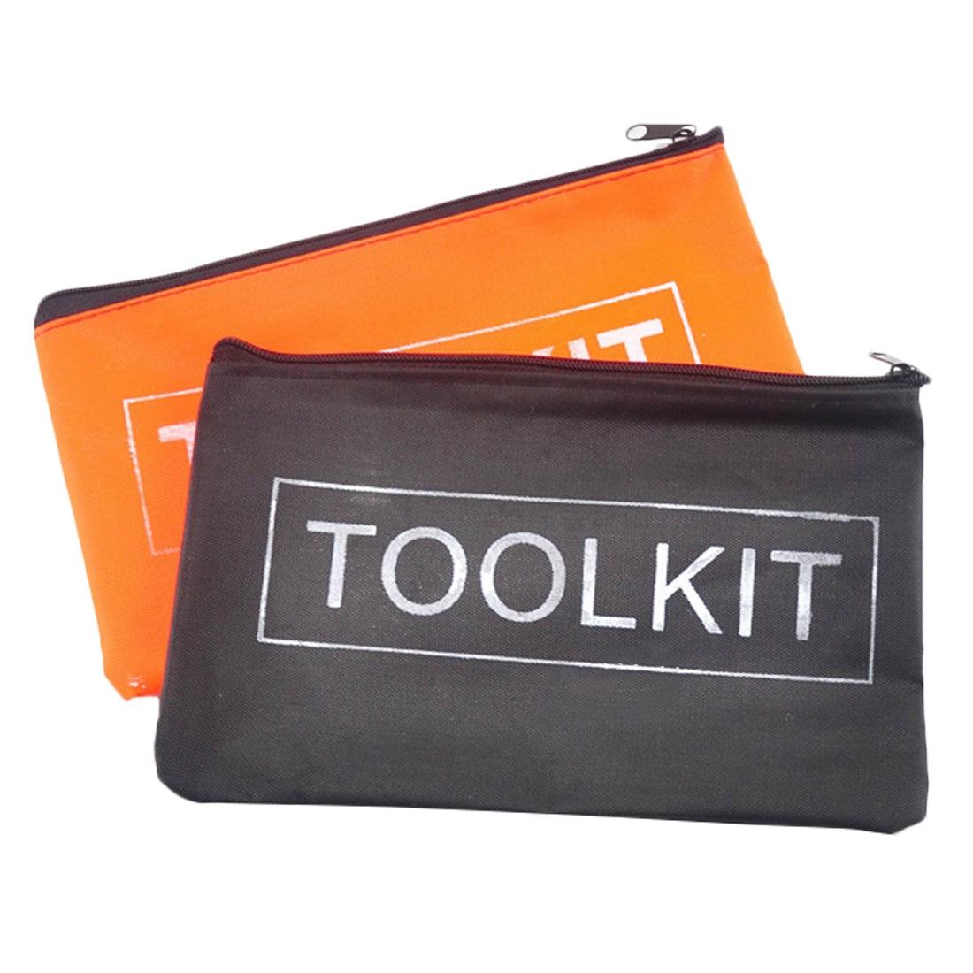 19x11cm  Mini Tool Kit Bag 600D Oxford Cloth Tool Bag Storage Instrument Case  Universal Size Convenient Hand Tool Bag Pocket