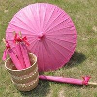 [ Fly Eagle ]30Pcs Hot Dark Pink selling Japanese style paper umbrella female cos umbrella