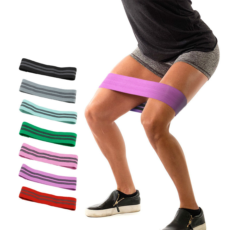Resistance Bands Resistance Hip Band Soft Non Slip Rubber Fitness High Elastic Compression Booty Gym Hips Legs Exercise Circle Loop Thigh Bands Commodities Are Available Without Restriction Sports & Entertainment