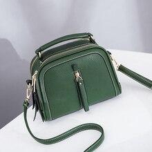 NPASON 2018 Hot Sell Fashion Shoulder Bag High Quality Soft PU Leather Wild Volume Tassel Handbag Simple Design For Women