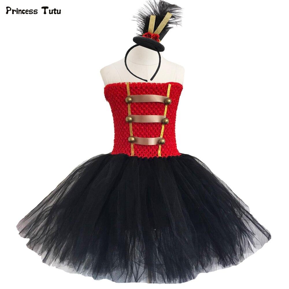 c2426a7b777 Цирк манежа Туту платье тюль Праздничное платье для девочки платье для дня  рождения Детские костюмы в