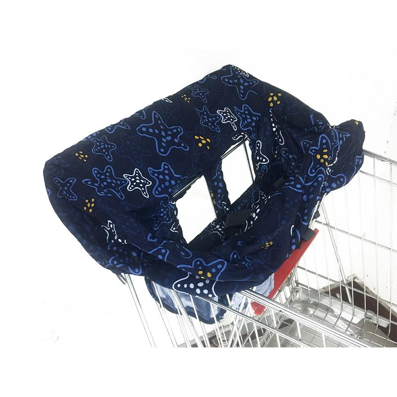 2 colors Infant Child Supermarket Shopping Cart cover Dining Chair Protector Ant