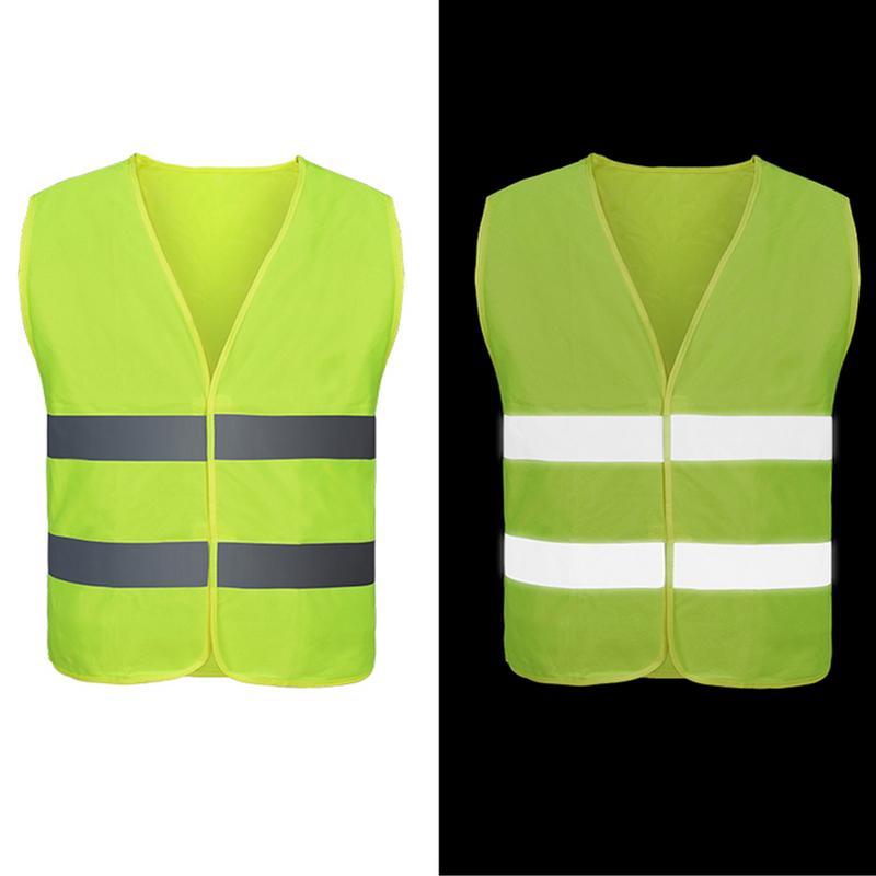 Image 3 - Unisex Car Motorcycle Reflective Safety Clothing High Visibility Safety Reflective Vest Warning Coat Reflect Stripes Tops Jacket-in Reflective Safety Clothing from Automobiles & Motorcycles