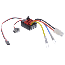 1 Set High Quality 1060 60A Waterproof Brushed ESC Electronic Speed Controller For 1:10 RC Car Hot Sales цены