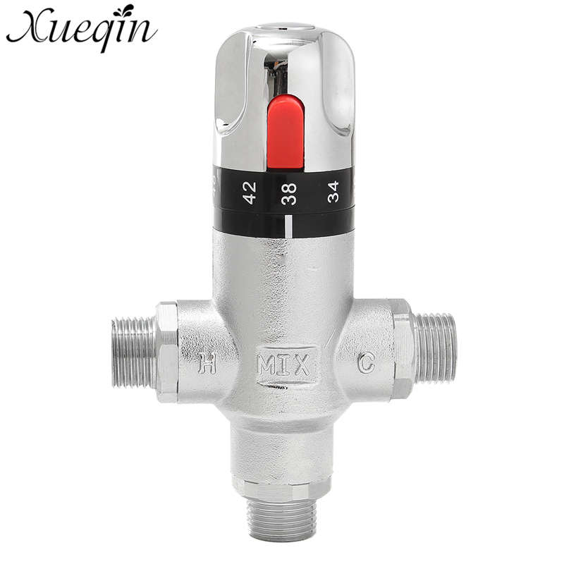 Buy Brass Thermostatic Mixing Valve Shower Faucet: Aliexpress.com : Buy Xueqin Brass Thermostatic Mixing