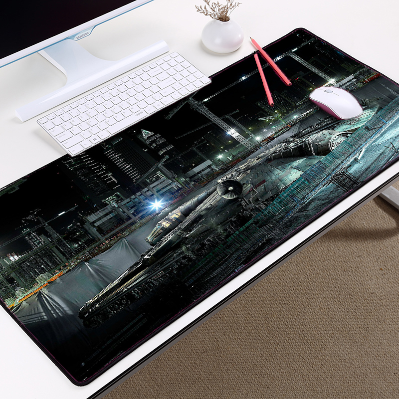 Mairuige Sci-fi Movie Space Ship Battleship Mousepad Creative Star Wars Style Printied Mouse Pad Table Mat 400x800x3MM 11patternMairuige Sci-fi Movie Space Ship Battleship Mousepad Creative Star Wars Style Printied Mouse Pad Table Mat 400x800x3MM 11pattern