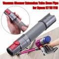 Tubo de extensión de manguera de la aspiradora de 68CM para Dyson V7 V8 V10 piezas de repuesto accesorios de aspiradoras grises