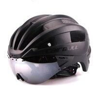 Cairbull Fiets Helm Eps Ultralight Racefiets Winddicht Lenzen Integraal Gevormde Helm-in Fietshelm van sport & Entertainment op