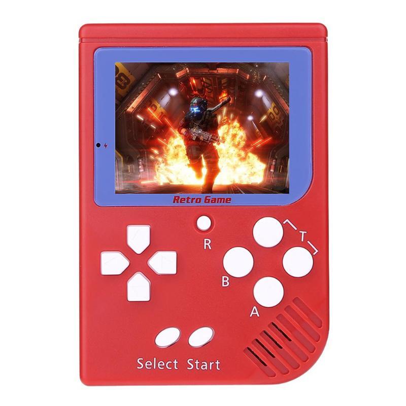 Nouvelle Console de jeu vidéo de poche 2.2in LCD 8 bits Mini lecteur de jeu Portable intégré 129 jeux pour enfants jouets de jeu