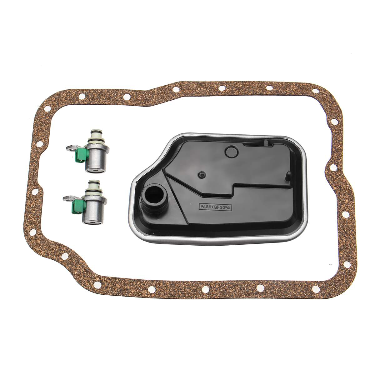 Transmission Shift Control Solenoid Replacement Kit For Ford For Mazda Products with the 4F27E & FN4A-EL Model 4-Speed 1999-onTransmission Shift Control Solenoid Replacement Kit For Ford For Mazda Products with the 4F27E & FN4A-EL Model 4-Speed 1999-on
