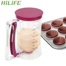 Мороженое HILIFE со сперматотором, средство для выпечки, инструменты для кексов, блинов, печенья, маффинов, 900 мл, мерный стакан