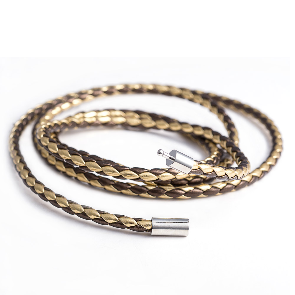 Hot Sale Fashion Brown Leather Bracelets Charm Bangle Handmade Rope Dropshipping Braided Bracelet Homme