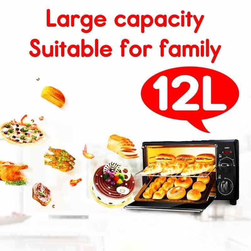12L Nhà Tiện Ích Mini Thông Minh Thời Gian Nướng Bánh Đời Sống Gia Đình Nhà Bếp Bánh Mì Nướng Điện Bánh Mì Máy nướng bánh