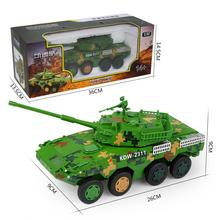 1:32 Wheel Type Armored Alloy Fighting Vehicle Toy Assault Anti-tank Alloy Armored Combat Vehicle Model ss 008 1 35 israel achzarit heavy armored transporter later model building kit toy